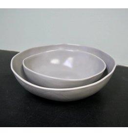 "Alex Marshall Pottery 12"" Round Bowl Grey"