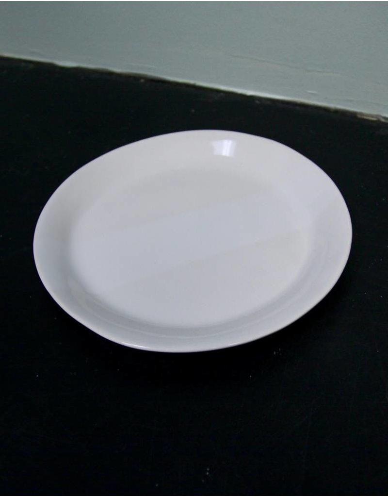 "Alex Marshall Pottery 8.5"" Slim Round Side Gloss White"