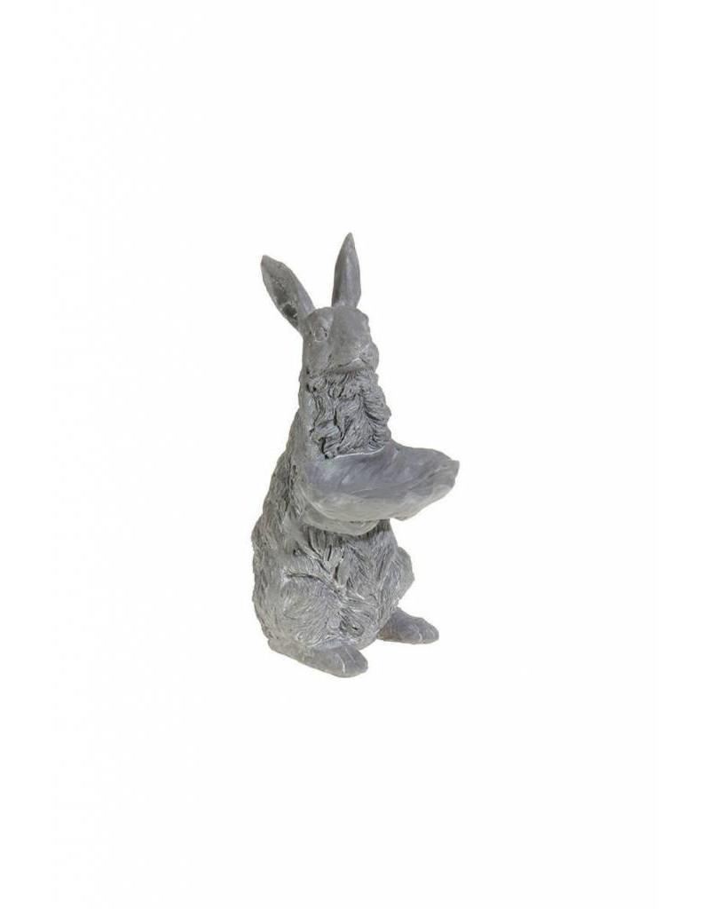 "13"" Bunny w/ Leaf"
