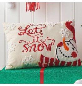"""20"""" """"Let It Snow"""" Pillow"""