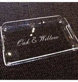 Custom Engraved Serving Tray