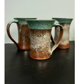 Dock 6 Pottery Mug Green/Copper