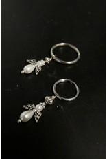 Angel Keychain Large Ring