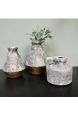 "Tradecie 5"" Stoneware Pitcher Vase"