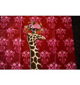 Animal Art Tea Towel Giraffe