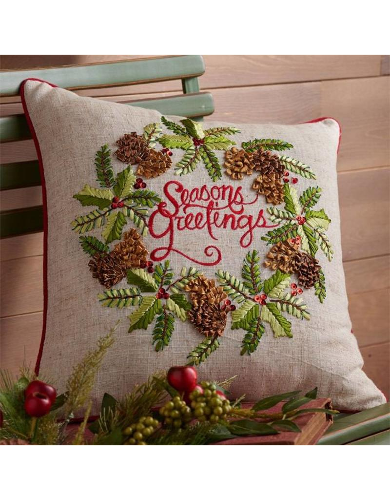 "16"" Season's Greetings"" Pillow"