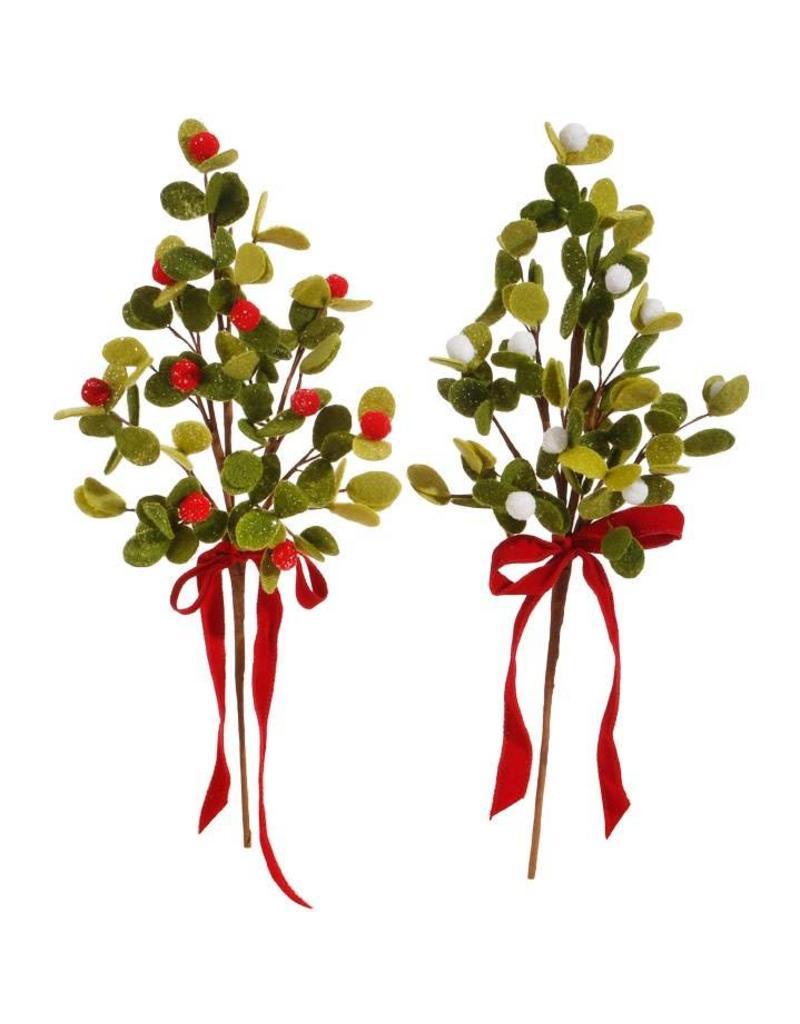 """20"""" Mistletoe Pick Asst."""