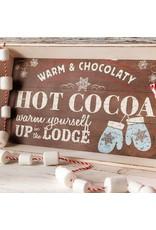"""18"""" """"Hot Cocoa"""" Tray"""