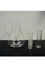 3.5 Qt Acrylic Pitcher w/ Ice Holder & Infuser
