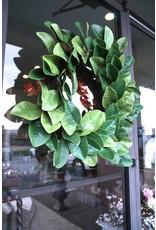 """24"""" Magnolia Leaf Wreath"""