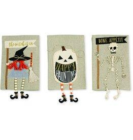 Skeleton Dangle Leg Towel