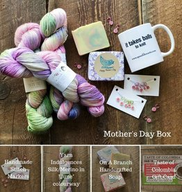 Spun Fibre Mothers Day Box
