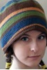 Spun Fibre Pattern PDF Crochet Basic Hat