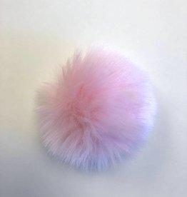 Pom pom Faux Fur - Pink