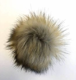 Pom pom Faux Fur - Raccoon