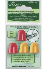 Clover Point Protectors - Circs, Large, 4 per package