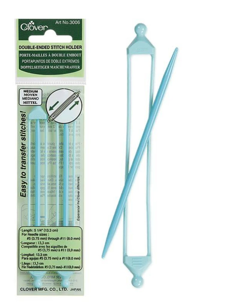 Clover Stitch Holders - Medium, double ended