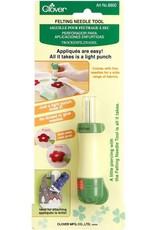 Clover Needle Felting Tool - 5 needles, 40 gauge (fine) needles included