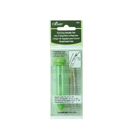 Clover Darning Needle Set - 3 metal needles in assorted sizes
