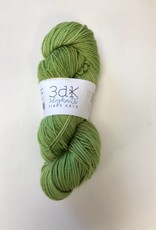 3 Dog Knits DK - Organic Wool/Nylon, OOAK-Green