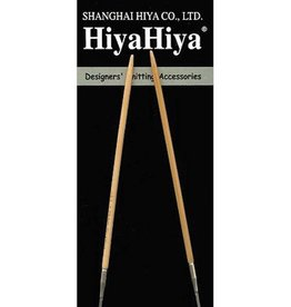 HiyaHiya Bamboo Fixed Circular Needles