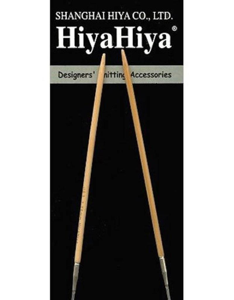 HiyaHiya Bamboo Fixed Circular Needles