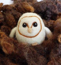 Needle Felting Barn Owl Workshop - Wednesday, Sept. 19th 1-3pm