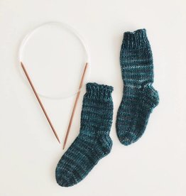 Class Two at a Time Toe-up Socks Thurs. Aug 2 and 16 (6:30-7:30pm)