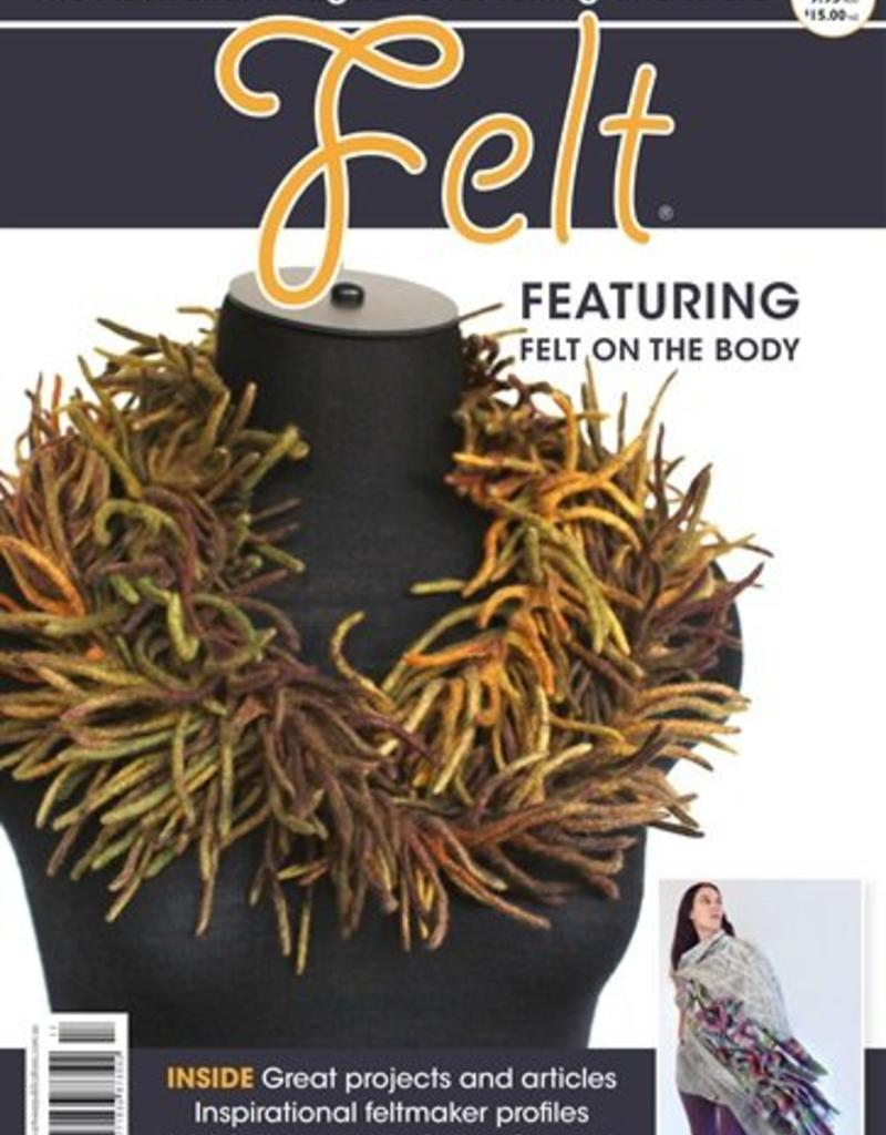 Interweave Felt Magazine, Issue 17, June 2017