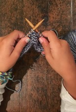 Class Kids Learn to Knit
