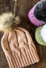 Danielle Comeau Moffitt Hat Kit - Cotton Merino & Pom