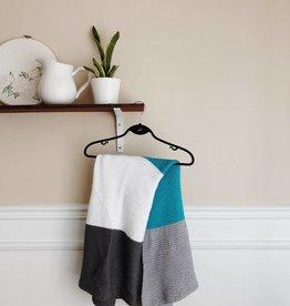 Colour Blocked Baby Blanket