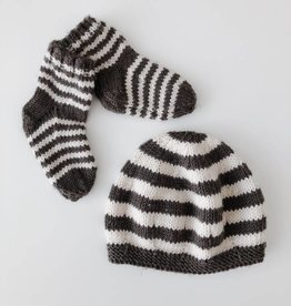 Striped Socks and Hat (Baby)