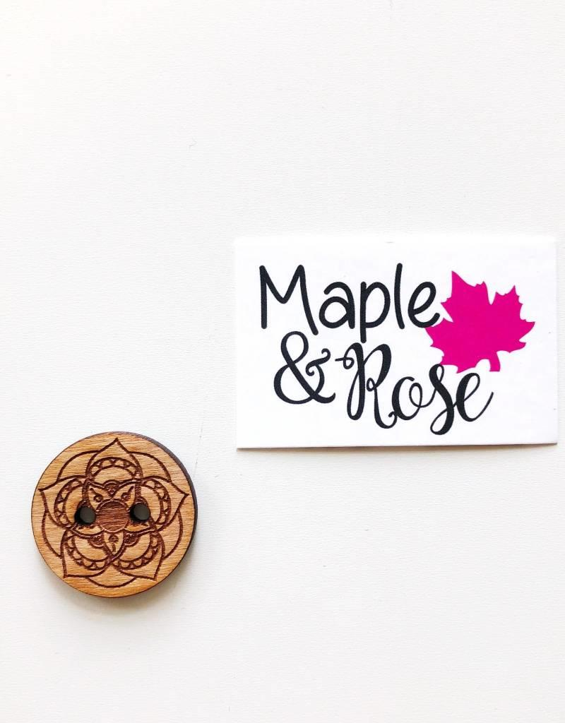 Maple & Rose Maple & Rose Buttons