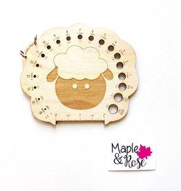 Maple & Rose Maple & Rose Sheep Needle Gauge