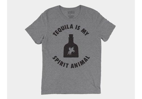 Shop Good Tequila Is My Spirit Animal Tee