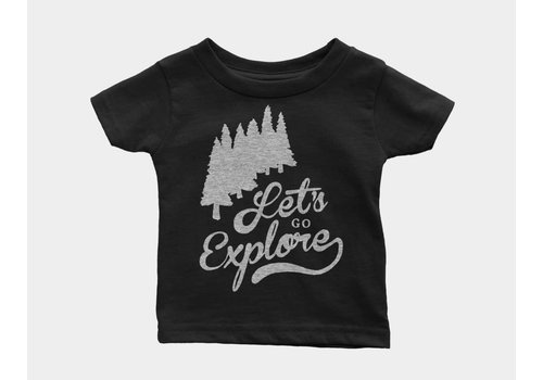 Shop Good Let's Go Explore Kids Tee