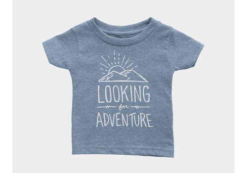 Shop Good Looking For Adventure Kids Tee