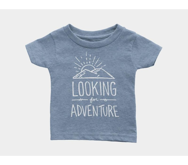 Looking For Adventure Kids Tee