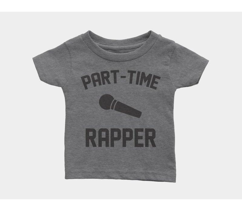 Part-Time Rapper Kids Tee