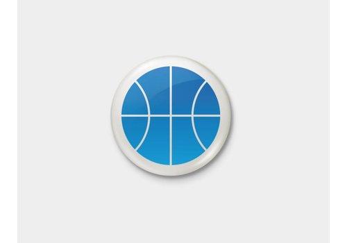 Shop Good Blue Thunder Pinback Button