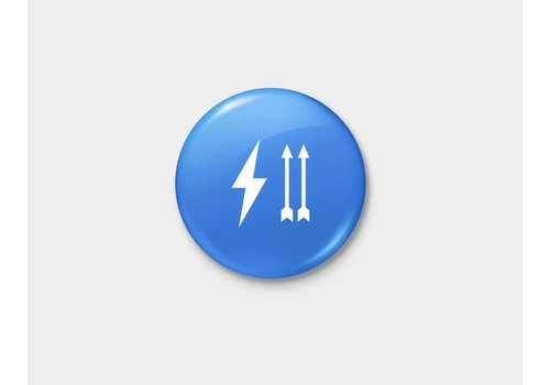 Shop Good Thunder Up Pinback Button