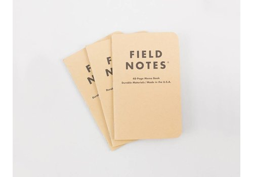 Field Notes Field Notes - Classic 3-Pack