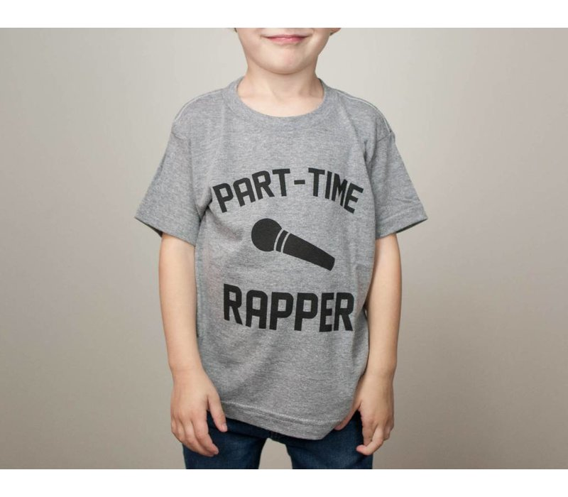 Part-Time Rapper Kids Tee