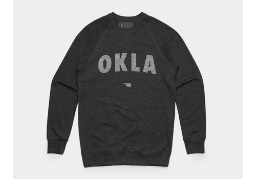 Shop Good OKLA Pullover Sweatshirt Asphalt Heather
