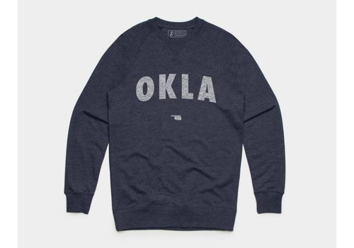 Shop Good OKLA Pullover Sweatshirt Navy Heather