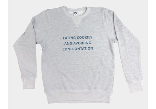 Shop Good Cookies & Confrontation Pullover Sweatshirt