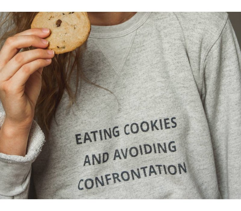 Cookies & Confrontation Pullover Sweatshirt