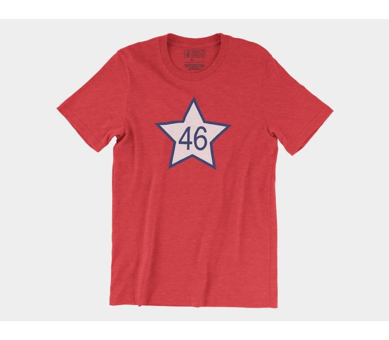 OK46 Tee Heather Red
