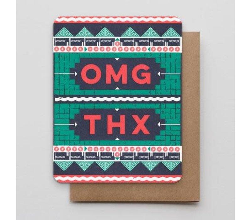 OMG THX Card